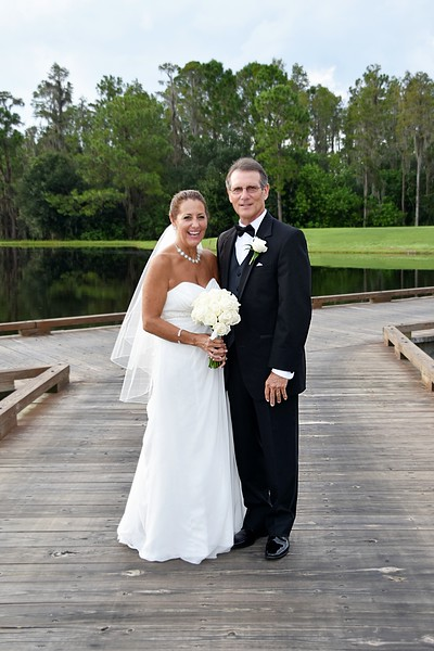 Beautiful wedding at Heritage Springs Country Club