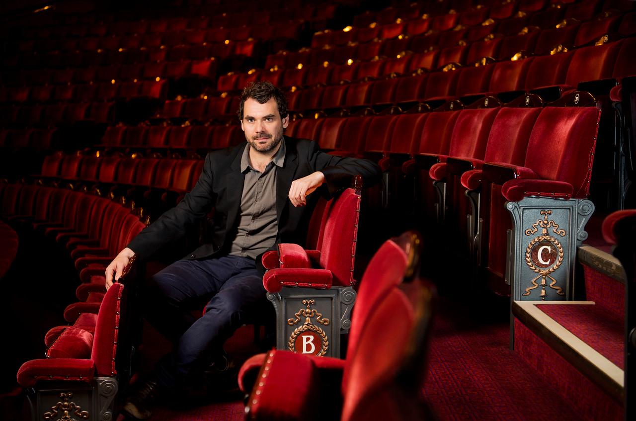 Daniel Kramer, Artistic Director of the English National Opera.  Photo by Linda Nylind. 2/6/2016.