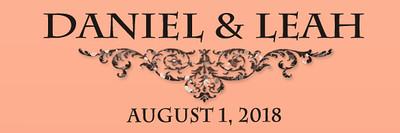 Daniel & Leah 8.1.18