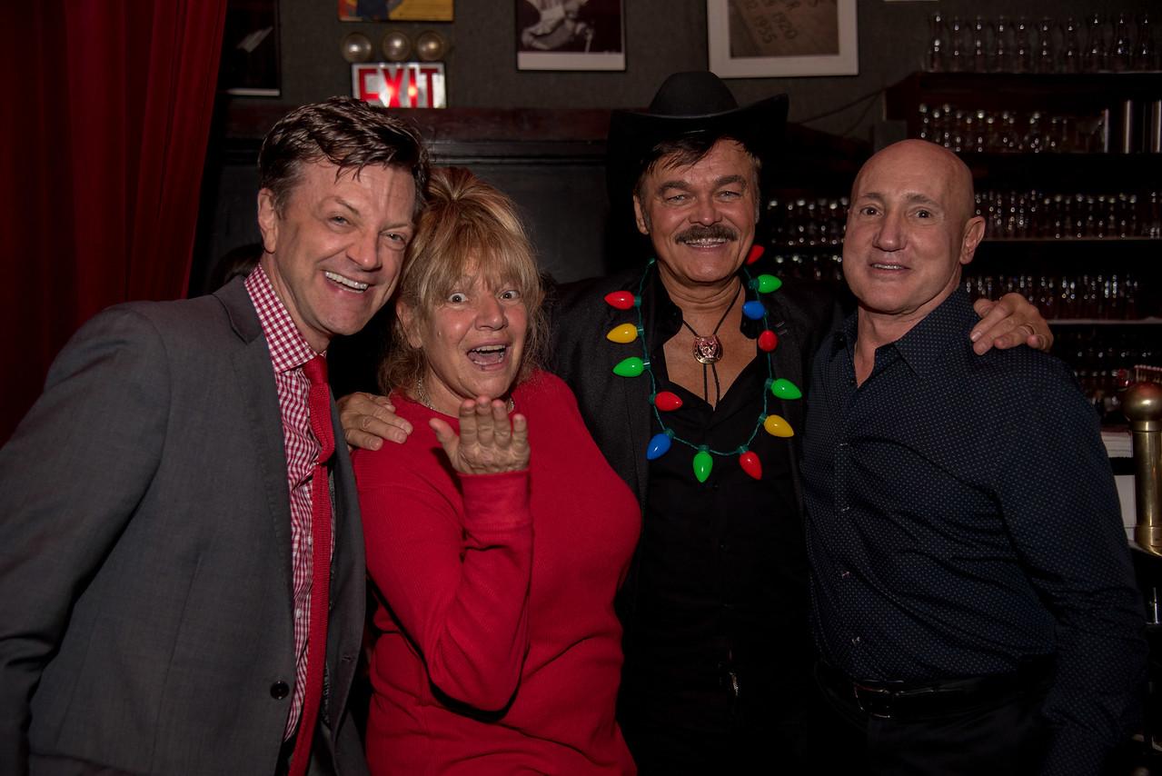 Jim Caruso, Robin Byrd, Randy Jones, &  Johnny Valenti