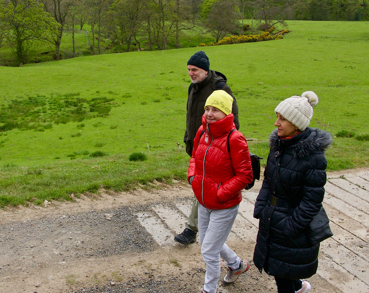 Prechádzka pozdĺž rieky Esk pri Leaholm