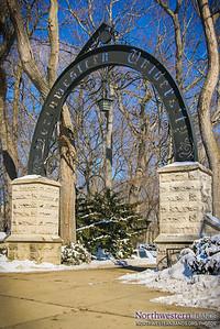 Weber Arch in Winter