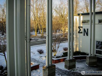 Sigma Nu in Winter