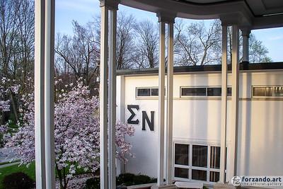 Springtime at Sigma Nu