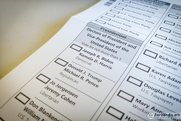 Vote Your Ballot by November 3