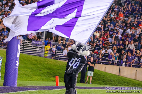 NUMB - Northwestern Football vs. Akron - September 15, 2018