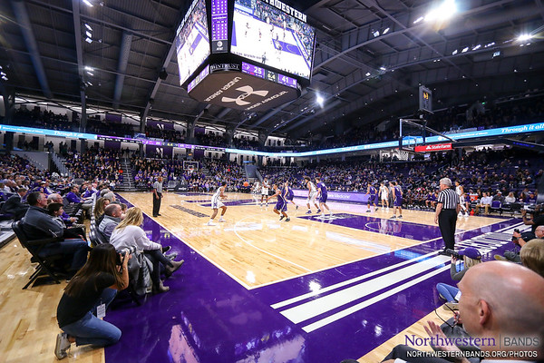 Northwestern's Inaugural Game at the New Welsh-Ryan Arena