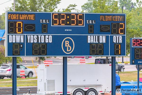 Flint City Bucks Lead 2-0 at Fort Wayne FC as We Pause for Lightning