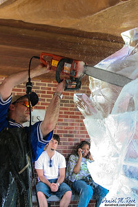 Ice Sculpting at the Indiana Academy