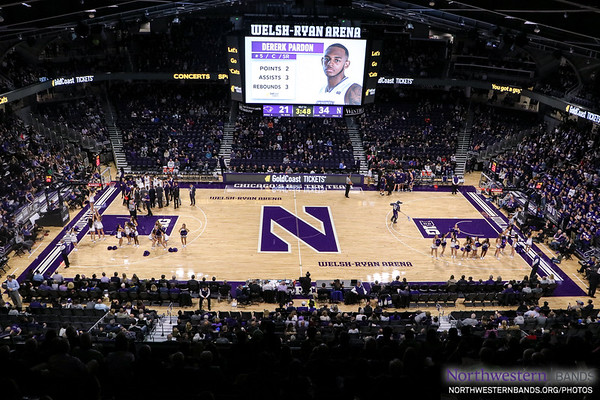 Northwestern Men's Basketball vs. McKendree - November 2, 2018