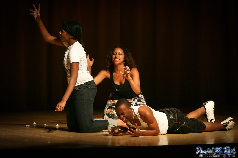 On Stage at Northwestern University