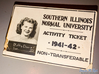 1941-42 Student Activity Ticket from Southern Illinois Normal University