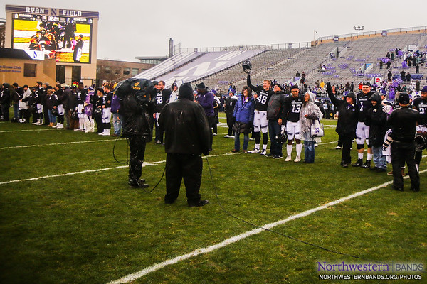 NUMB #NUSeniorDay - Northwestern vs. Minnesota - November 18, 2017
