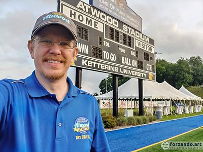 Daniel M. Reck, Director of Atwood Stadium Operations