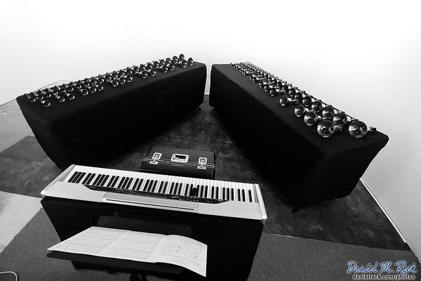 Handbell and Piano Trio in Studio