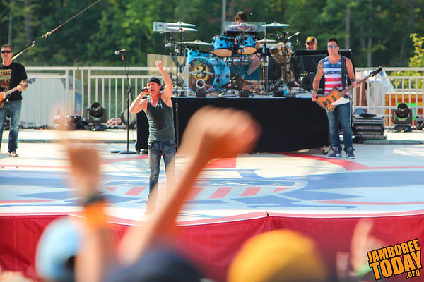 Three Doors Down at the 2013 National Scout Jamboree