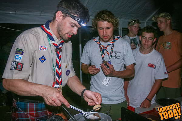 Yum! Scottish Scouts Serve Up Haggis