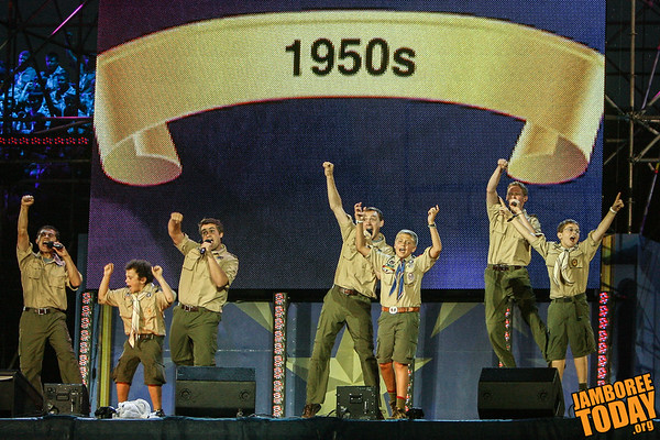 Singing a Century of Scouting's Success