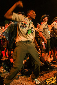 Scouting Dancing Machine