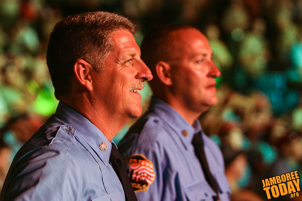 New York City Firefighters Celebrate Scouting Centennial