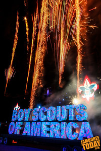 Fireworks Erupt as the Boy Scouts of America Turns 100