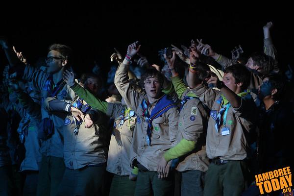 2011 World Scout Jamboree Opening Arena Show