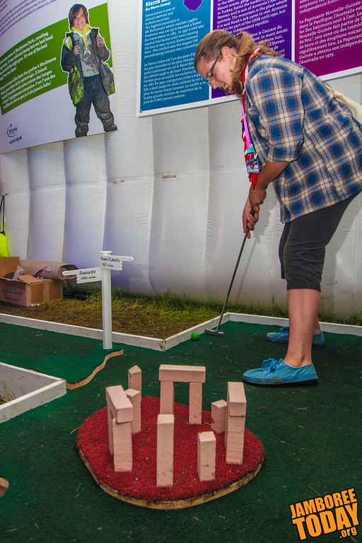 Mini Golf at Stonehenge?