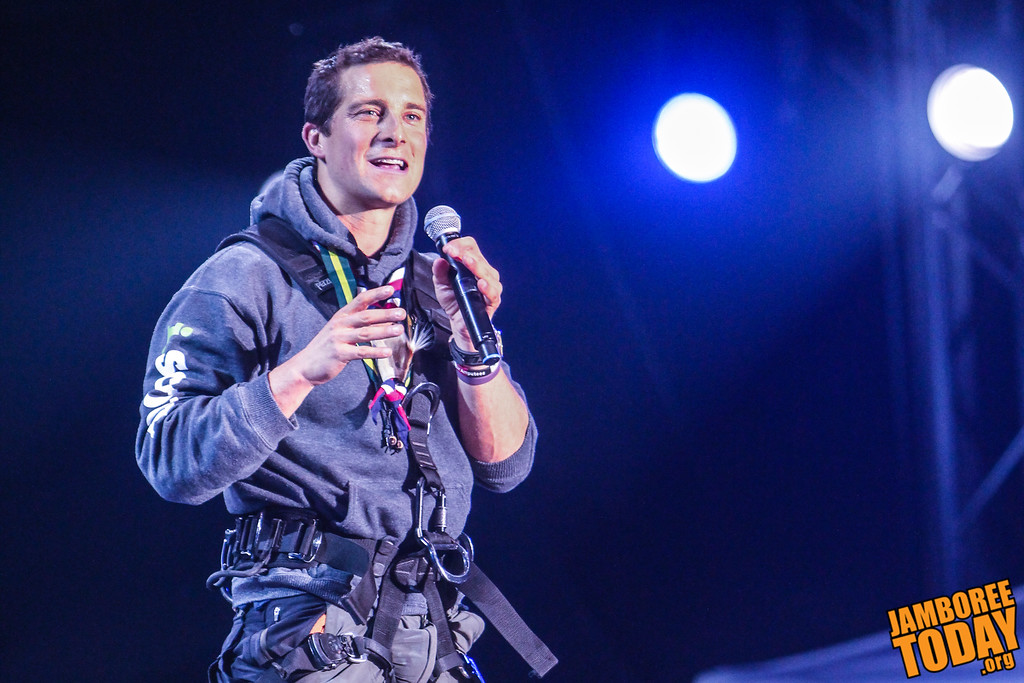 Bear Grylls Addesses Scouts