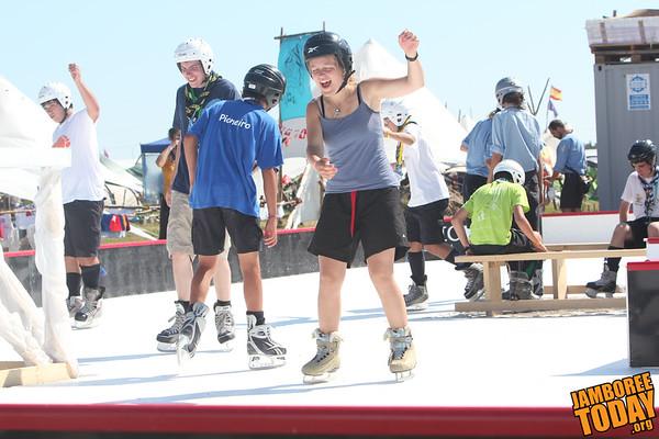 "Swedish Summer ""Ice"" Skating"