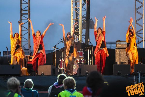 World Dance at the 2011 World Scout Jamboree