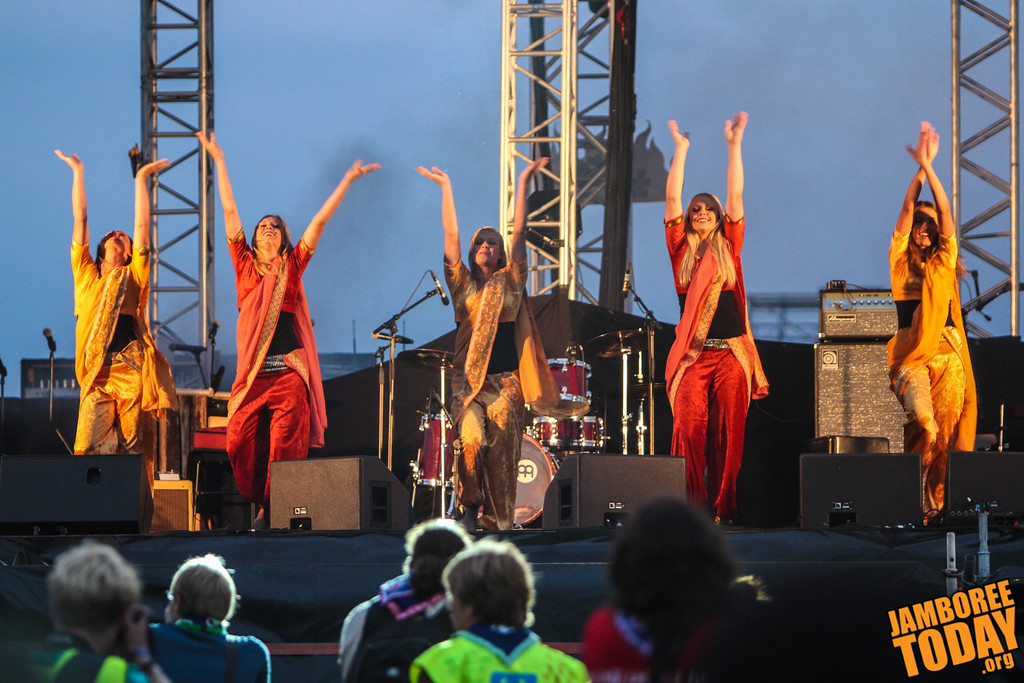World Dance at the 2011 World Scout Jamboree