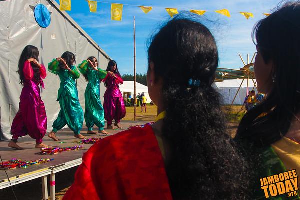 Bangladeshi Scout Dancers
