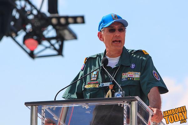 BSA National President Wayne Perry