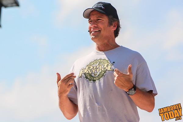 Mike Row is Leader of the Dirt Patrol