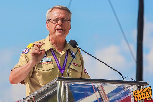 Chief Scout Executive Wayne Brock
