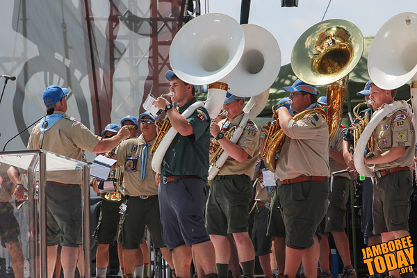 2013 National Scout Jamboree Band