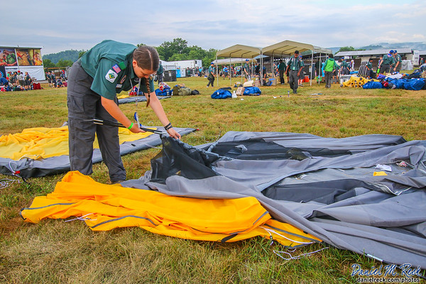 Tent Teardown