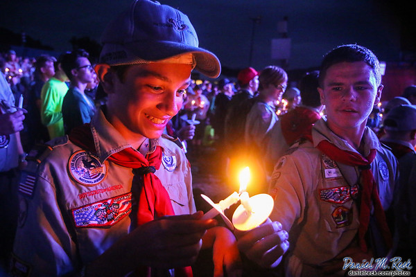 Sharing the Light of Scouting