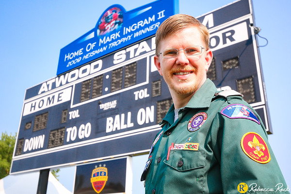 Eagle Scout Daniel M. Reck Shares His Experience Directing Operations at Atwood Stadium