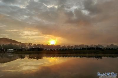 Summit Sunrise Over Echo Basecamp