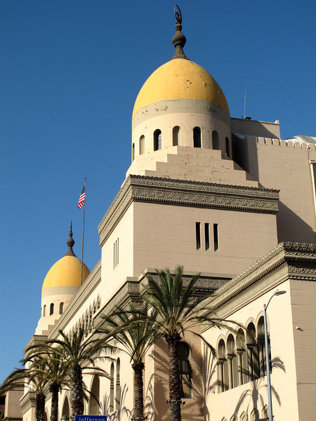 The Shrine Auditorium & Expo Hall, Los Angeles, CA.