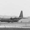 Loadmaster pulling plane