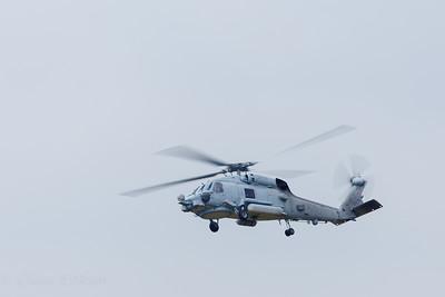 MH-60R in flight