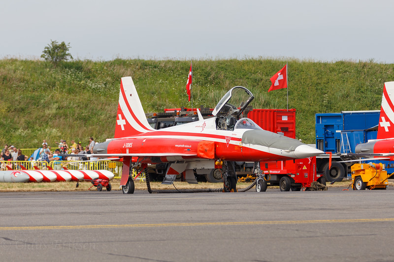 Parked F-5E