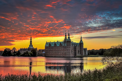 Frederiksborg slot. HDR optagelse.