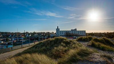 Efterårs ved Hornbæk Havn