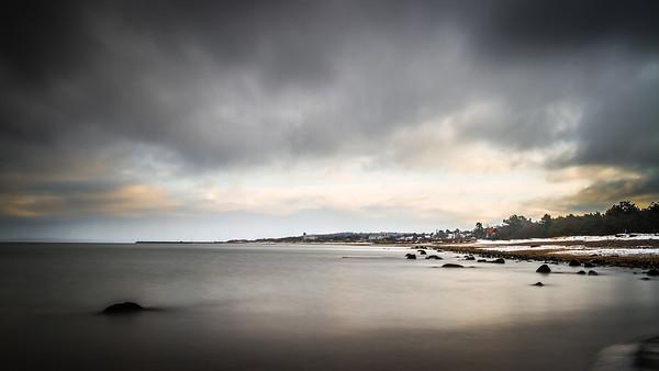 Vintertur langs Hornbæk strand 2015