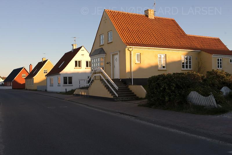 Hovedgaden i Klitmøller