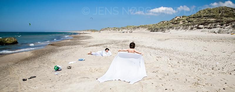 Klitmøller strand
