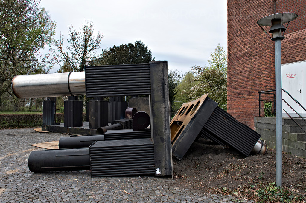 Ingvar Cronhammers metalskulptur Campfire